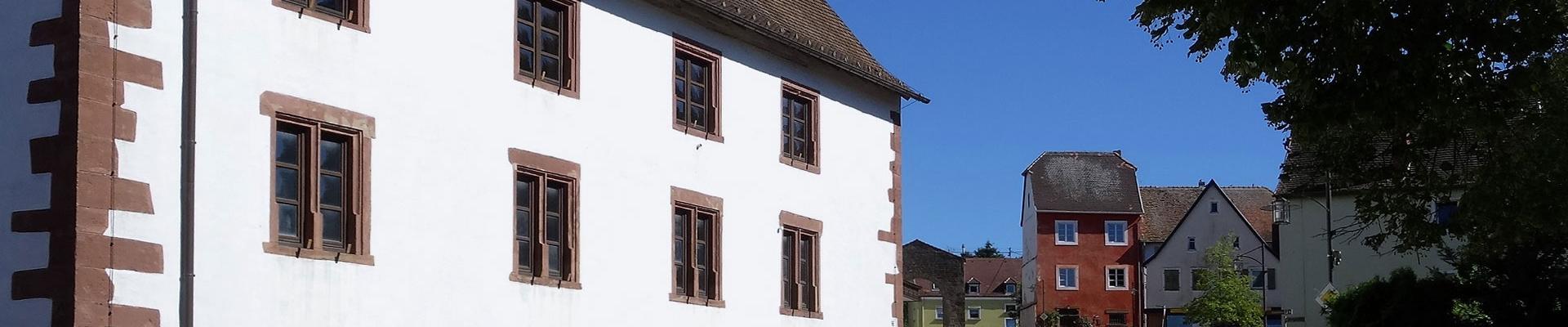 Altes Rathaus der Klosterstadt Hornbach