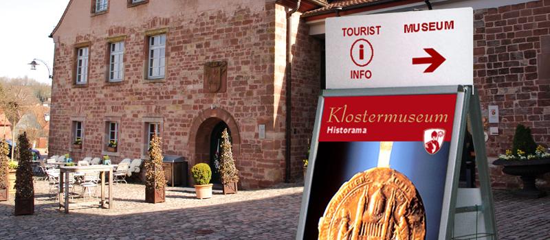 Tourist-Info Klosterstadt Hornbach