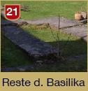 Reste der Basilika