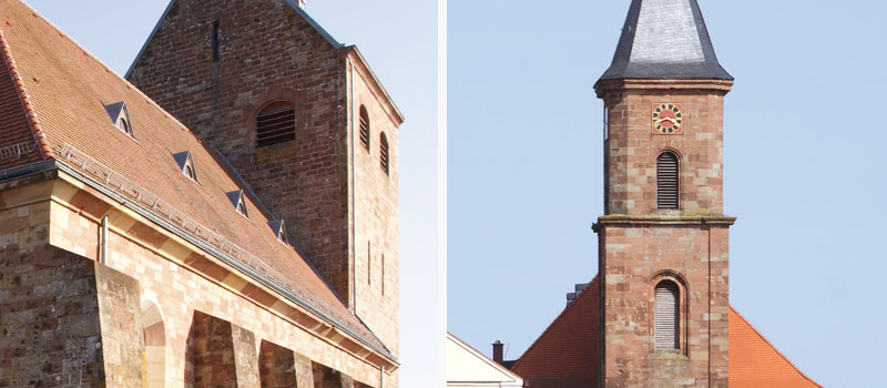 Kirche in Hornbach